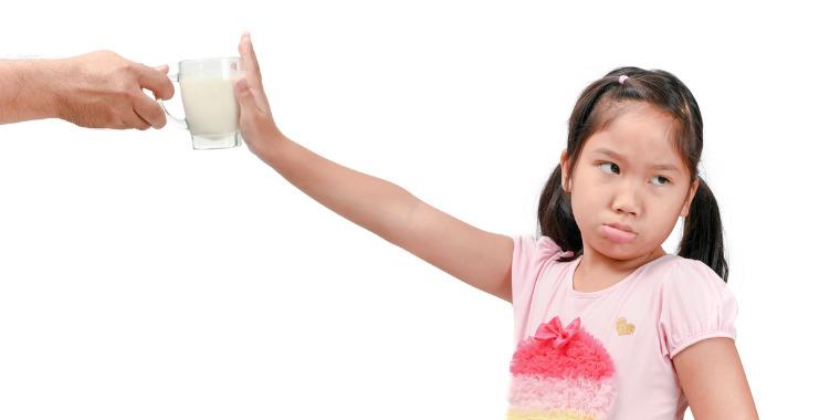 Quand l'enfant est intolérant au lactose