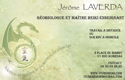 Jerome Laverda GobiologieReikiMagntisme