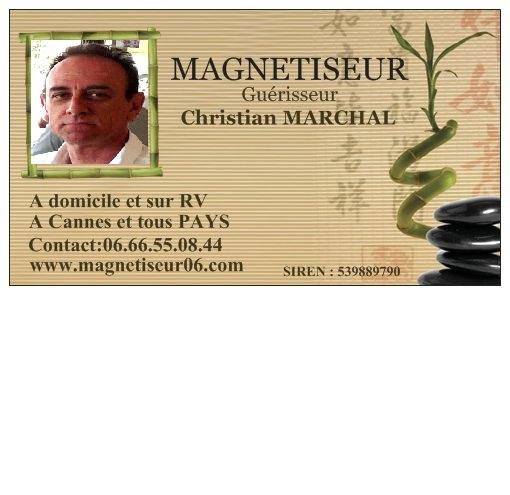 Christian Marchal MagnetismeRadiesthesie
